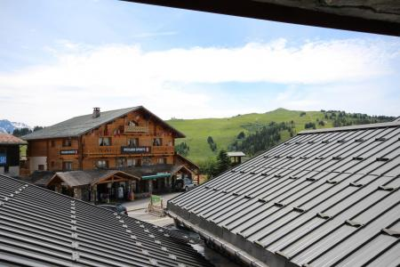Rent in ski resort 2 room apartment cabin 4 people (CHAUDR) - Résidence Grand Mont 1 - Les Saisies - Summer outside