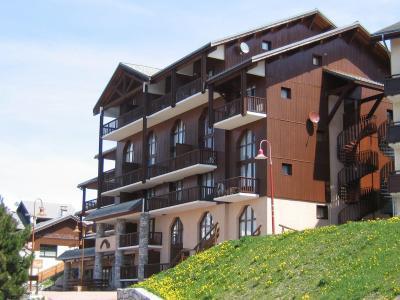 Location au ski Résidence Grande Ourse - Peisey-Vallandry - Extérieur été
