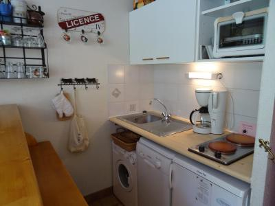 Vacances en montagne Appartement 1 pièces 4 personnes (021R) - Résidence Grande Ourse - Peisey-Vallandry - Kitchenette