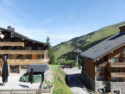 Location au ski Studio divisible 3 personnes (35) - Résidence Grande Rosière - Méribel-Mottaret - Extérieur été