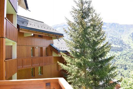 Vacances en montagne Appartement duplex 5 pièces 8 personnes (18) - Résidence Hauts de Chantemouche - Méribel - Extérieur été