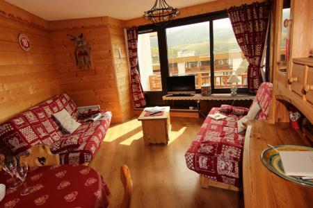 Vacances en montagne Appartement 3 pièces 6 personnes (12) - Résidence Hauts de Chavière - Val Thorens - Banquette-lit tiroir