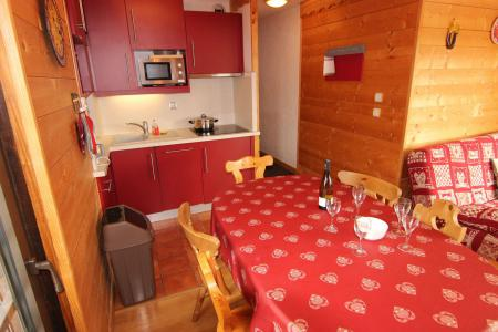 Vacances en montagne Appartement 3 pièces 6 personnes (12) - Résidence Hauts de Chavière - Val Thorens - Séjour