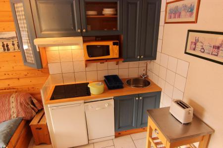 Vacances en montagne Studio coin montagne 3 personnes (30) - Résidence Hauts de Chavière - Val Thorens - Cuisine
