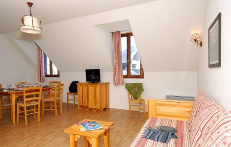 Urlaub in den Bergen Résidence Illixon - Luchon-Superbagnères - Wohnzimmer