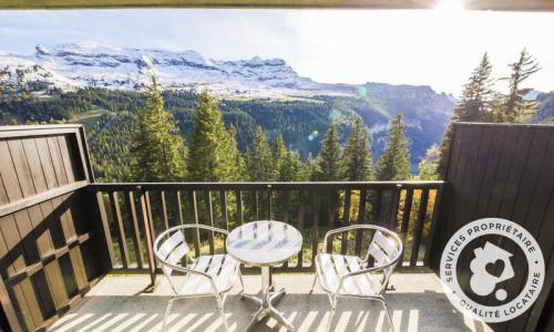Wakacje w górach Studio 4 osoby (Sélection 28m²-4) - Résidence Iris - Maeva Home - Flaine - Na zewnątrz latem