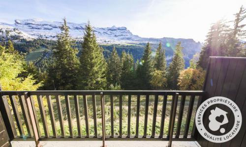 Wakacje w górach Studio 4 osoby (Confort 28m²) - Résidence Iris - Maeva Home - Flaine - Na zewnątrz latem