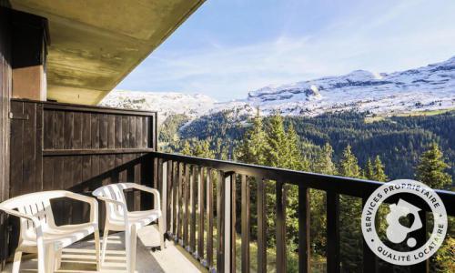 Wakacje w górach Studio 4 osoby (Confort 26m²-4) - Résidence Iris - Maeva Home - Flaine - Balkon