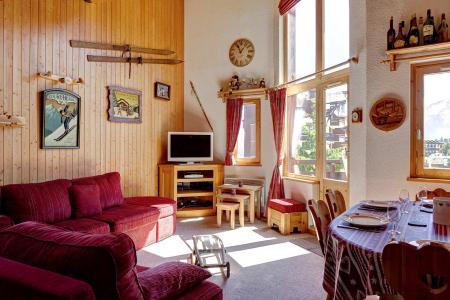 Vacances en montagne Appartement duplex 4 pièces 10 personnes (210) - Résidence Kalinka - La Tania - Séjour