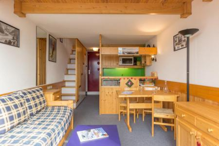 Holiday in mountain resort Studio mezzanine 5 people (3406) - Résidence l'Aiguille Grive 3 - Les Arcs