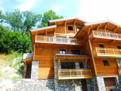 Location au ski Résidence L'Alaia - Brides Les Bains - Extérieur été