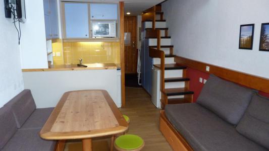 Holiday in mountain resort Studio sleeping corner 5 people (412) - Résidence l'Alliet - Les Arcs