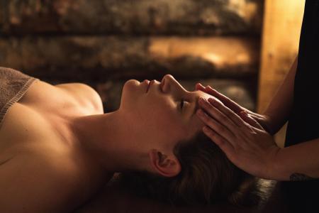 Vacances en montagne Résidence L'Alpaga - La Toussuire - Massage