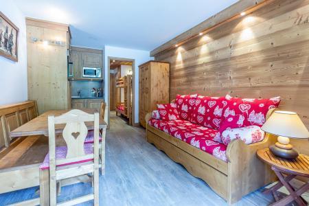Vacances en montagne Appartement 2 pièces 6 personnes (C04) - Résidence l'Alpinéa - Méribel-Mottaret - Canapé-lit