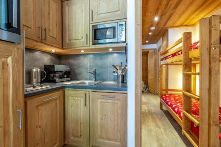 Vacances en montagne Appartement 2 pièces 6 personnes (C04) - Résidence l'Alpinéa - Méribel-Mottaret - Kitchenette