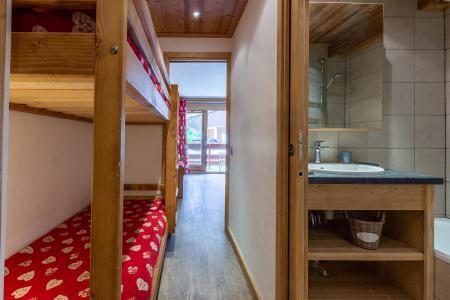 Vacances en montagne Appartement 2 pièces 6 personnes (C04) - Résidence l'Alpinéa - Méribel-Mottaret - Lits superposés