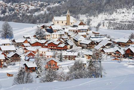 Аренда жилья Albiez Montrond : Résidence l'Ancolie зима