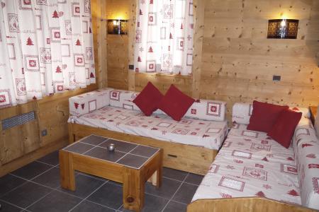 Vacances en montagne Studio 4 personnes (09) - Résidence l'Arc en Ciel - Méribel-Mottaret - Canapé