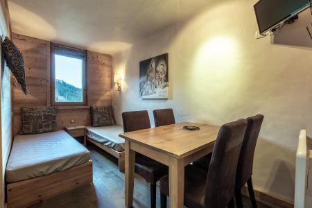 Vacances en montagne Studio 4 personnes (I03) - Résidence l'Arc en Ciel - Méribel-Mottaret - Séjour