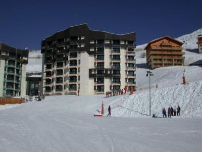 Location au ski Résidence l'Armoise - Les Menuires - Extérieur été