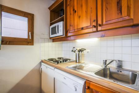 Vacances en montagne Appartement 2 pièces 4 personnes (006) - Résidence l'Athamante - Valmorel - Kitchenette