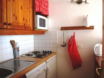 Vacances en montagne Studio 5 personnes (002) - Résidence l'Athamante - Valmorel - Kitchenette