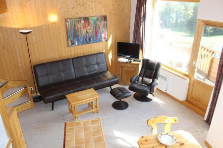 Vacances en montagne Appartement duplex 4 pièces 7 personnes (401) - Résidence l'Atrey - La Tania - Séjour