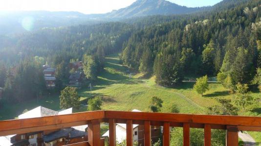 Location au ski Appartement 2 pièces 5 personnes (403) - Residence L'atrey - La Tania - Extérieur été