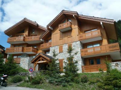 Location au ski Residence L'aubepine - Méribel - Extérieur été