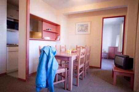 Vacances en montagne Résidence l'Ecrin d'Huez - Alpe d'Huez - Coin repas