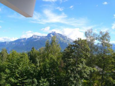 Аренда на лыжном курорте Апартаменты 2 комнат с мезонином 6 чел. (754) - Résidence l'Ecrin des Glaciers - Isard - Combloux - летом под открытым небом