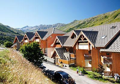 Location au ski Residence L'ecrin Des Neiges - Valmeinier - Extérieur été