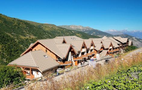 Vacances en montagne Résidence l'Ecrin des Neiges - Valmeinier - Extérieur été