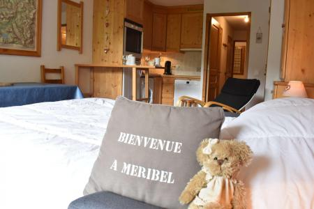 Holiday in mountain resort 2 room apartment 5 people (011) - Résidence l'Ermitage - Méribel