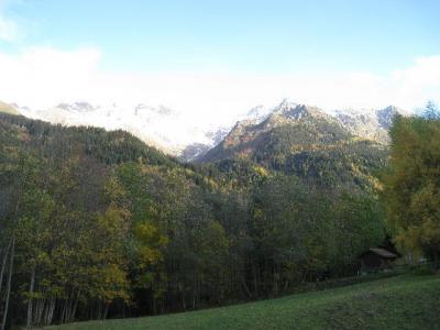 Location au ski Residence L'eterlou - Les Contamines-Montjoie - Extérieur été