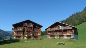 Location au ski Appartement 2 pièces 4 personnes (210) - Residence L'oree De La Combe - Arêches - Extérieur été