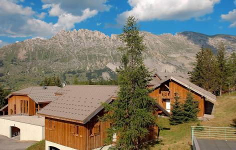 Location au ski Résidence l'Orée des Pistes - Superdévoluy - Extérieur été