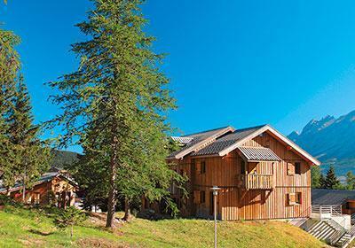 Location au ski Residence L'oree Des Pistes - Superdévoluy - Extérieur été