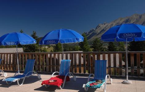 Vacances en montagne Résidence l'Orée des Pistes - Superdévoluy - Solarium
