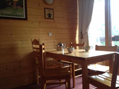 Vacances en montagne Appartement 2 pièces 4 personnes (025) - Résidence l'Orgentil - Valmorel - Table
