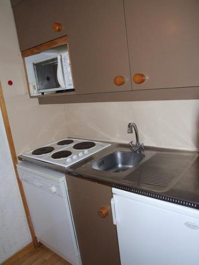 Vacances en montagne Studio cabine 4 personnes (10) - Résidence l'Orsière - Val Thorens - Kitchenette