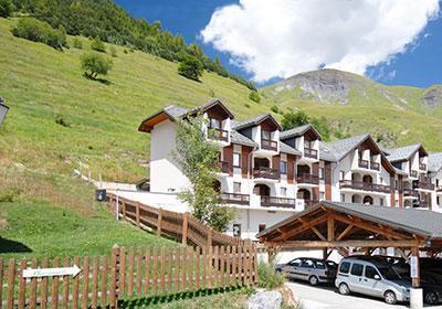 Location au ski Residence L'ouillon - Saint Sorlin d'Arves - Extérieur été