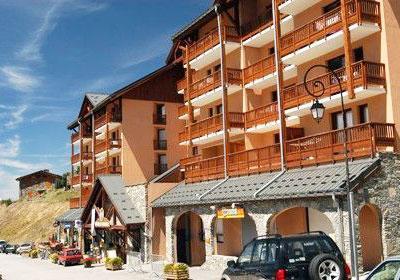 Location au ski Residence L'ours Blanc - Valmeinier - Extérieur été
