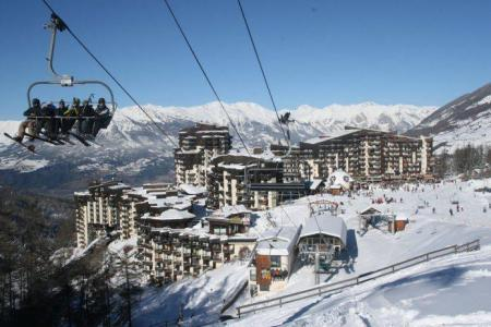 Holiday in mountain resort 2 room duplex apartment 8 people (251) - Résidence l'Oustal - Les Orres