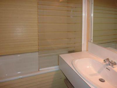 Holiday in mountain resort Studio sleeping corner 4 people (246) - Résidence l'Oustal - Les Orres - Shower room