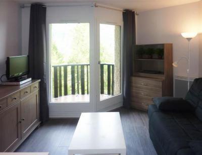 Holiday in mountain resort Studio sleeping corner 4 people (247) - Résidence l'Oustal - Les Orres - Living room