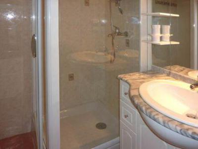 Holiday in mountain resort Studio sleeping corner 4 people (258) - Résidence l'Oustal - Les Orres - Shower room