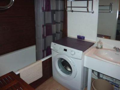 Holiday in mountain resort Studio sleeping corner 5 people (264) - Résidence l'Oustal - Les Orres - Shower room