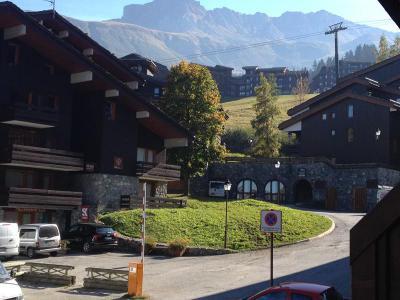 Vacances en montagne Studio 4 personnes (005) - Résidence la Buche - Valmorel - Extérieur été