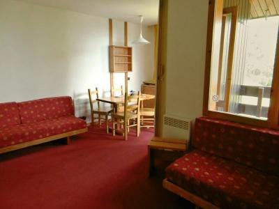 Holiday in mountain resort Studio 3 people (23) - Résidence la Cachette - Valmorel - Living room